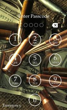 Bullet Keypad Screen Lock apk screenshot