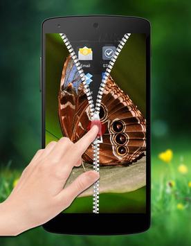 Butterfly Zipper Lock apk screenshot