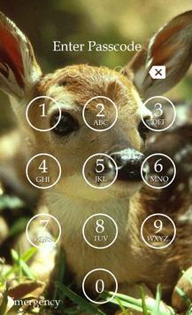 Deer Keypad Screen Lock Theme screenshot 1