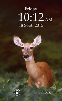 Deer Keypad Screen Lock Theme screenshot 4