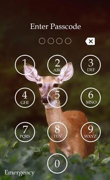 Deer Keypad Screen Lock Theme screenshot 5