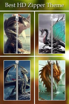 Dragon Zipper Lock poster