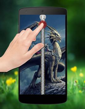 Dragon Zipper Lock screenshot 1