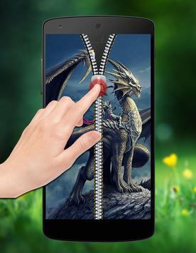 Dragon Zipper Lock screenshot 2