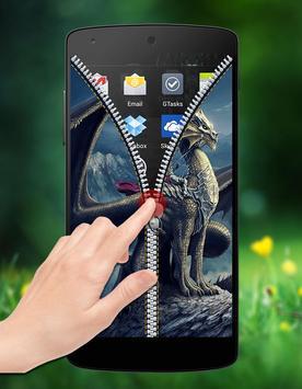 Dragon Zipper Lock screenshot 3