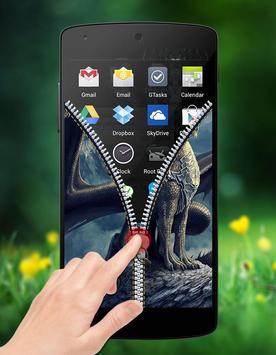 Dragon Zipper Lock screenshot 4