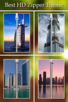 Dubai Zipper Lock poster