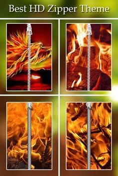 Fire Zipper Lock poster