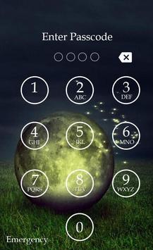 Fireflies Keypad Lock Screen screenshot 3