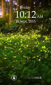 Fireflies Keypad Lock Screen screenshot 4