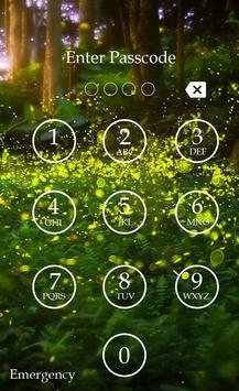 Fireflies Keypad Lock Screen screenshot 5