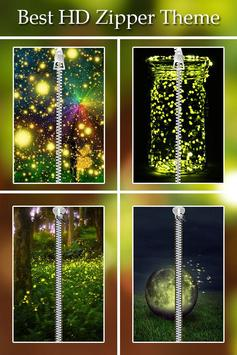 Fireflies Zipper Lock poster