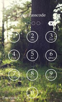 Forest Keypad Lock Screen screenshot 3