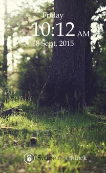 Forest Keypad Lock Screen screenshot 2