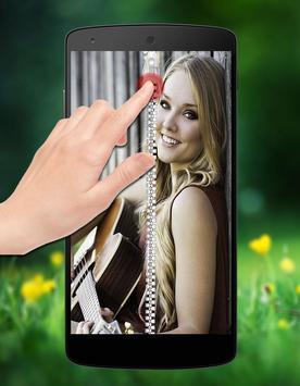 Girlfriend Photo Zipper Lock poster
