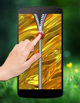 Gold Zipper Lock screenshot 2