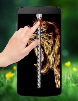 Horoscope Zipper Lock screenshot 1