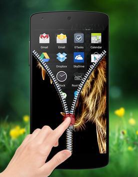 Horoscope Zipper Lock screenshot 4