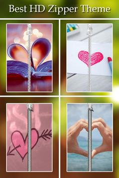 Love Passcode Zipper Lock poster