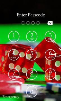 Poker Keypad Screen Lock Skin apk screenshot