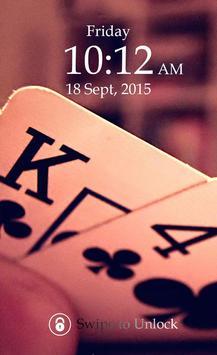 Poker Keypad Screen Lock Skin poster