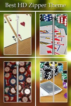 Poker Zipper Lock poster