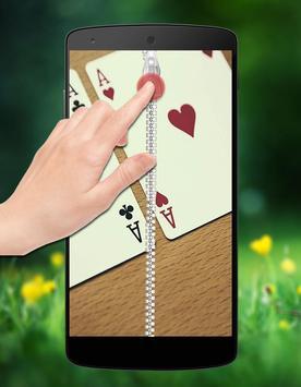 Poker Zipper Lock screenshot 1