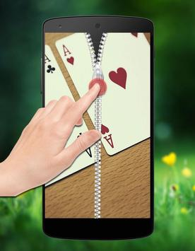 Poker Zipper Lock screenshot 2