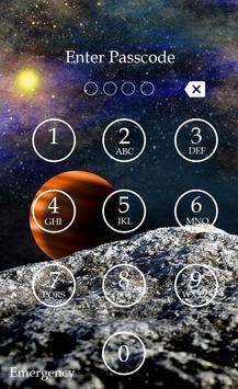 Planet Keypad Lock Screen screenshot 1