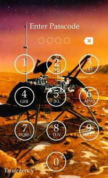 Planet Keypad Lock Screen screenshot 3