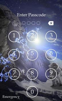 Planet Keypad Lock Screen screenshot 5