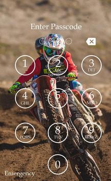 Racing Keypad Screen Lock screenshot 4
