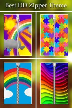 Rainbow Passcode Zipper Lock poster