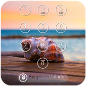 Sea Shell Keypad Lock Screen icon