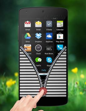 Shutter Zipper Lock apk screenshot