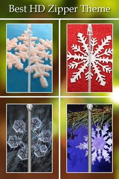 Snowflake Zipper Lock poster