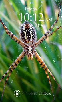 Spider Keypad Screen Lock poster