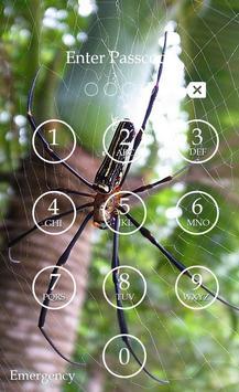 Spider Keypad Screen Lock apk screenshot
