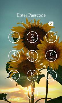 Sunflower Keypad Screen Lock screenshot 3
