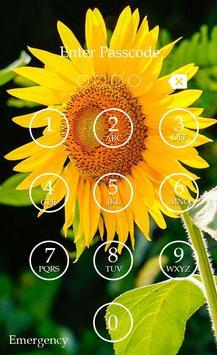 Sunflower Keypad Screen Lock screenshot 5
