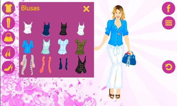 Dress Violetta screenshot 4