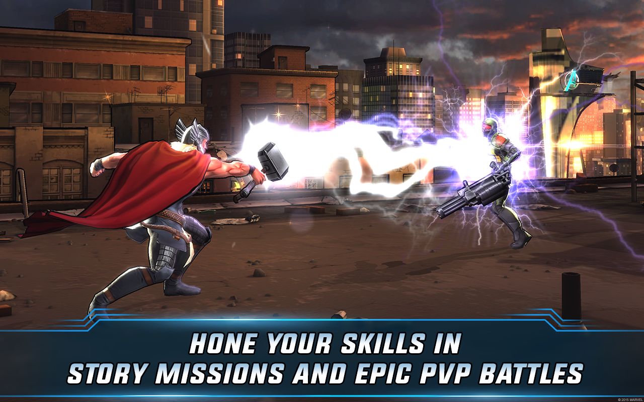 marvel avengers alliance mobile game free download