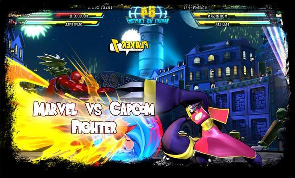 Clash SuperHeroes • Mavel vs Capcom poster