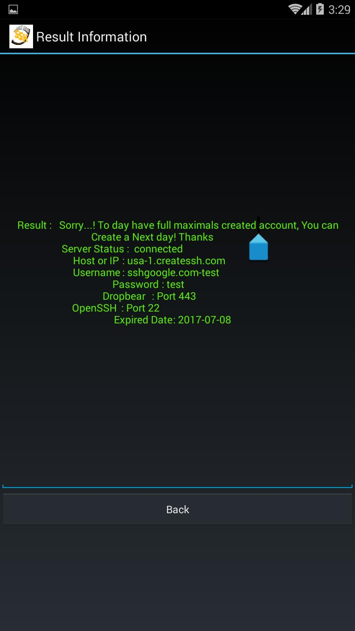 Buat SSH akun for Android - APK Download