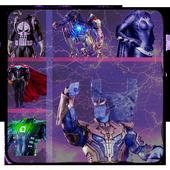 Super Hero & Villains photo Suit👔-marvlous Suits icon