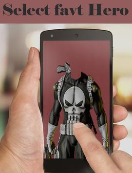 Super Hero & Villains photo Suit👔-marvlous Suits screenshot 2