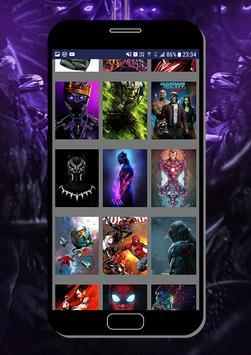 Marvel Heroes Wallpapers - Heróis da Marvel HD screenshot 3
