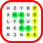 Word search ~ Harry Potter icon