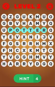 Word search ~ Harry Potter screenshot 1