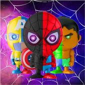 Incroyable Spider Iron Superheroes icon